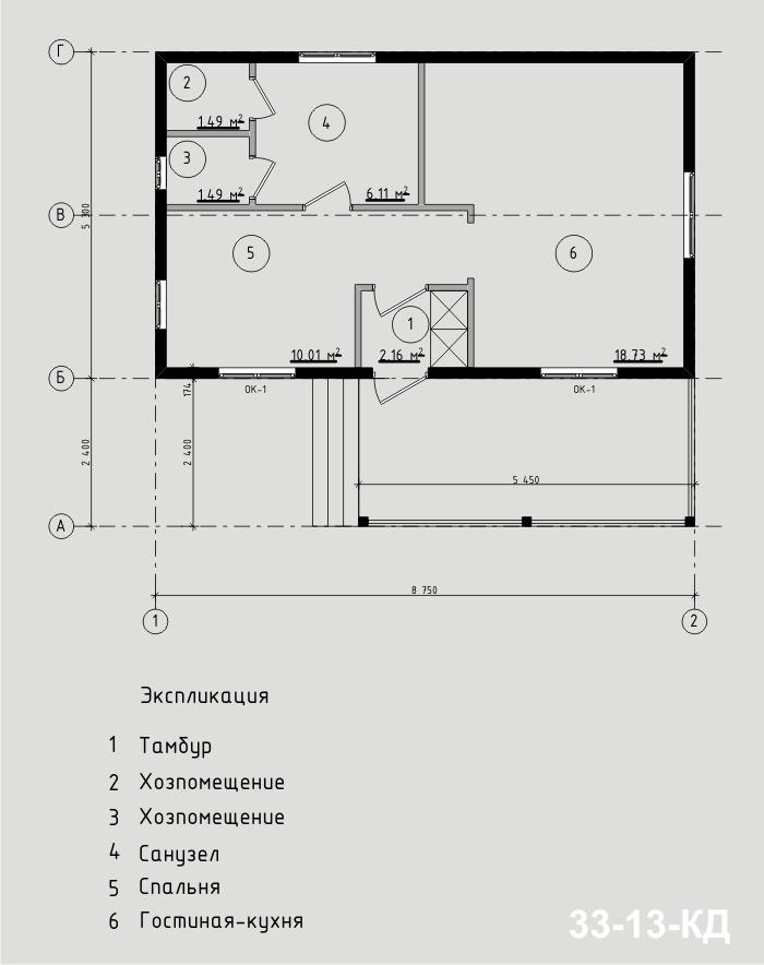 """Проект жилого дома из СИП-панелей. Компания """"Авантаж"""", г.Новосибирск"""