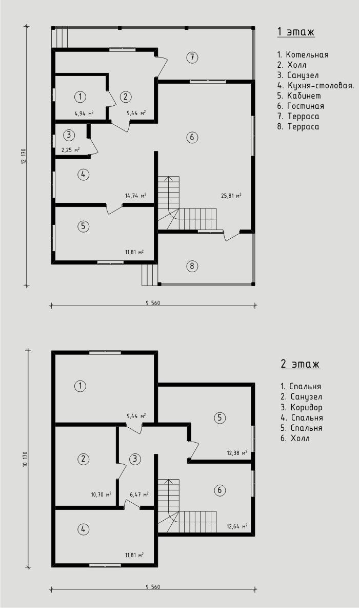 """Энергоэффективный дом из СИП панелей 131 кв.м , изготовленный компанией """"Авантаж""""."""