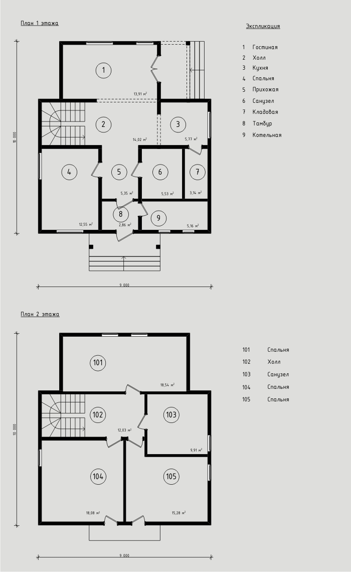 """Проект дома из СИП-панелей 142,5м2. Компания """"Авантаж"""" г.Новосибирск"""