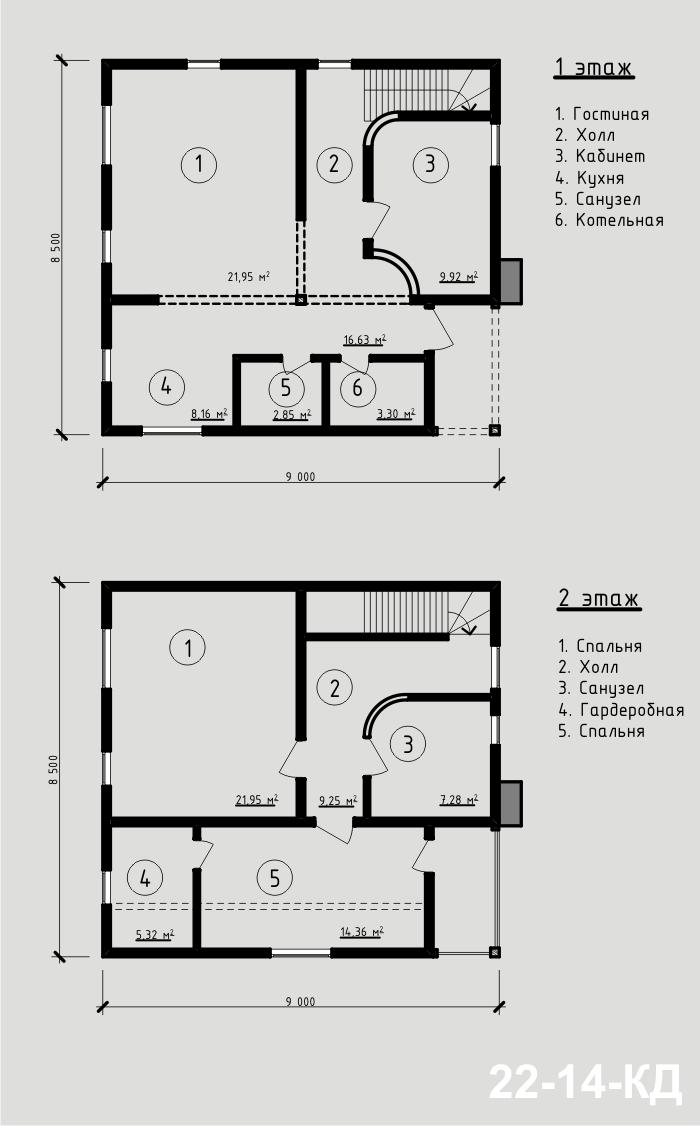 """Дом из СИП-панелей 104,4 м2. Компания """"Авантаж"""" г.Новосибирск"""
