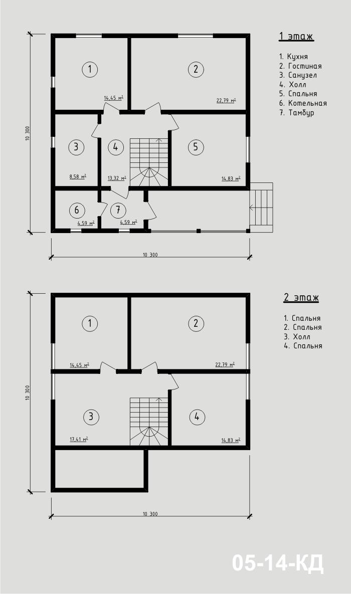 """Проект дома из sip-панелей 152,63 м2. Компания """"Авантаж"""", г.Новосибирск."""
