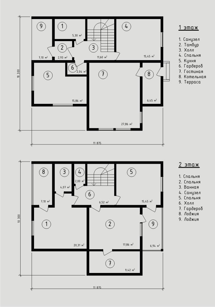 """Проект дома из sip-панелей 163,12 м2. Компания """"Авантаж"""", г.Новосибирск."""