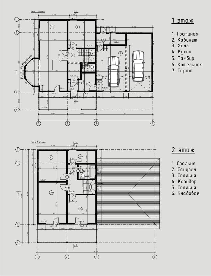"""Проект дома из СИП панелей 208 м2. Компания """"Авантаж"""", г.Новосибирск."""