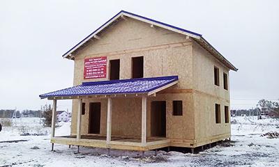 """Жилой дом из СИП-панелей, Компания """"Авантаж"""", г. Новосибирск"""