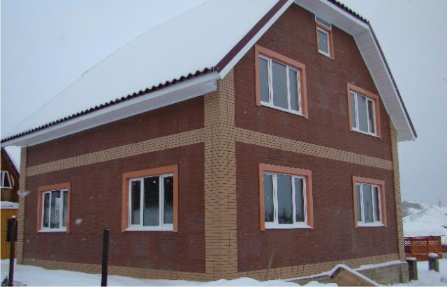 """Дом из сэндвич-панелей (СИП-панелей). Компания """"Авантаж"""", г.Новосибирск"""