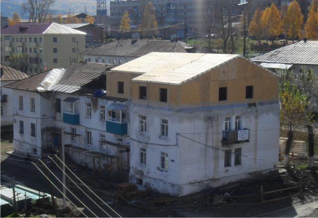 """Надстройка из сип-панелей. Компания """"Авантаж"""", г.Новосибирск"""