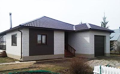 """Дом мз сэндвич-панелей (Сип-панелей) .Компания """"Авантаж"""", г.Новосибирск"""
