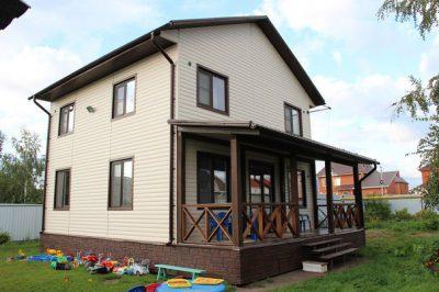 Жилой дом из СИП-панелей